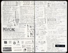i wish my notes were this beautiful