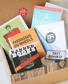 Birchbox for Books. It's the Book Riot subscription box from Quarterly and it's all kinds of nerdy fun for book lovers.