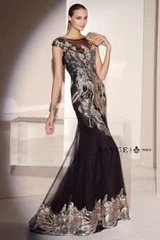 Black Label Dress Style #5673 Full View