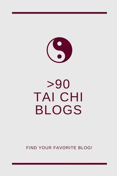 almost 100 Tai Chi and Qi Gong blogs  #taichi #taichichuan #taiji #taijiquan #qigong #blogs