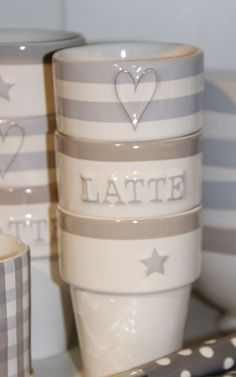Love It~♥~ A latte and my knitting = one happy lady :) #loveknittingcom #amidsummerknitsdream