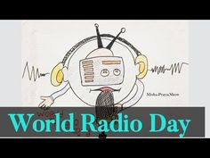 World Radio Day 2021 Drawing | How to Draw World Radio Day | Drawing of Radio Easy Step by Step - YouTube Drawing Competition, World Radio, International Day, Drawings, Easy, Youtube, Fictional Characters, Sketches, Drawing