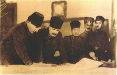 1919 Erzurum, Fevzi Çakmak - Mustafa Kemal.