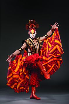 Cirque du Soleil's Dralion. I want to go see this one so bad.