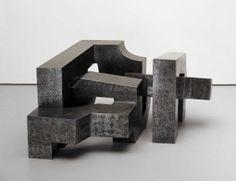 """Iru Burni/ Three Irons"". Eduardo Chillida, 1966."