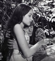 Olivia Hussey and Leonard Whiting star as Romeo and Juliet in the 1968 film version of the classic Shakespearean tale of the two young…