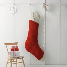 giant stocking sack | the little white company