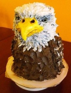 King of the Eagles Iced Cake
