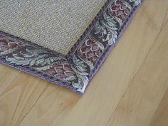 Edging rug vocabulary: Tapestry Binding