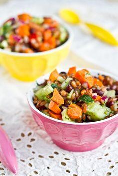 cilantro lime grain salad
