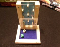 Modern Dice Tower by kevinscabins on Etsy