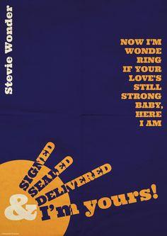 Signed, Sealed, Delivered - Stevie Wonder