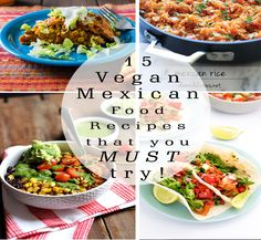 From some of the best food blogs on the web, here is a round up post of 15 Vegan Mexican Food Recipes that you simply MUST TRY!  You'll be glad you did! Vegan Churros?! Yes, please!! There's everything here to make a feast. Let the fiesta begin! 1. Enchilada Breakfast Casserole   Angel McNall / … … Continue reading →