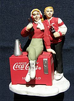 Coca Cola Town Square Refreshing Break Christmas Village Collection No 2415 found at EuropeanGoodies