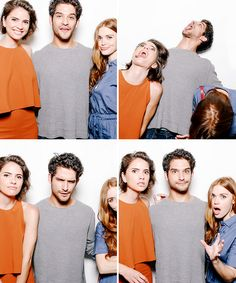 Shelley Hennig, Tyler Posey + Holland Roden