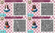 Animal Crossing New Leaf Design QR Code