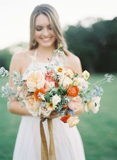Take a peek at this summer sunset wedding inspiration at The White Sparrow, featured on Fine Art Invitation Designs, Wedding Invitations Sunset Wedding, Floral Wedding, Wedding Bouquets, Wedding Flowers, Wedding Film, Dream Wedding, Bouquet Photography, Film Photography, Fort Worth Wedding