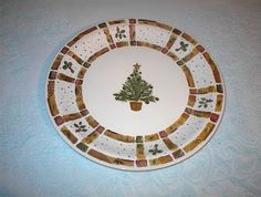 Cool Christmas dish pattern