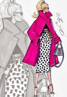 Hayden Williams Fashion llustration.