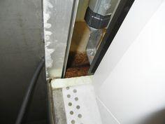 Feuchtigkeit im gedämmten Rolladenkasten ist nicht wirklich gut...