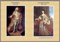 QUADRO DE ANA MARIA DE ORLEANS E VITOR AMADEU II