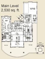 I like this floor plan, but I would like it better if it were smaller by about half.
