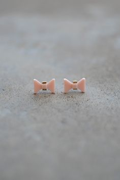 Tux Earrings - Blush from Page 6 Boutique