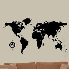 World map printable art black and white marble print large world map decal wall art world globe with all nations vwaq wmap gumiabroncs Choice Image