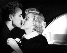 A blank wall is no match for James Dean & Marilyn Monroe <3 available now at www.brailliant.com.