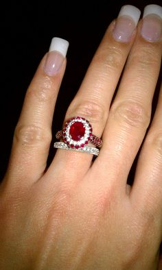 1000 Images About Ruby Rings I Love On Pinterest Ruby
