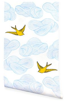 Daydream Wallpaper, Sunshine - $125 Although it has popped up everywhere recently, this pattern is a beautiful choice. I've seen it in bath...