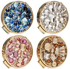 The Starry Nights Powder Compacts from Estee Lauder are stunning! Gifts For Her, Great Gifts, Imperfection Is Beauty, Matte Makeup, Altered Tins, Cosmetic Design, Solid Perfume, Jewelry Tray, Compact Mirror