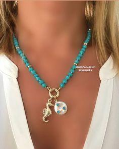 Coral Jewelry, Beaded Jewelry, Jewelry Necklaces, Beaded Bracelets, Handmade Wire Jewelry, Handmade Necklaces, Friendship Bracelets Tutorial, Jewelry Tattoo, Pretty Necklaces