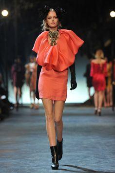 Lanvin: Runway - Paris Fashion Week Fall/Winter 2012