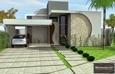 Tp development ideas house plan - site of midrand nodwig Single Floor House Design, House Front Design, Small House Design, Bungalow House Design, Duplex House, Dream House Plans, Modern House Plans, Modern Villa Design, House Elevation