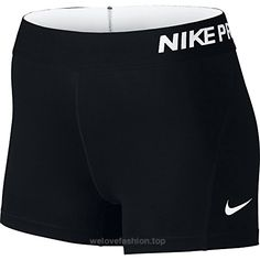 Nike Women's Pro Cool 3-Inch Compression Shorts (Black/White/Large)  BUY NOW     $26.87    Women's Nike Pro Cool Short is the perfect base layer for high-intensity training and competition. Its body-hugging fit and Nike Pro Cool fabric deliver performance a ..