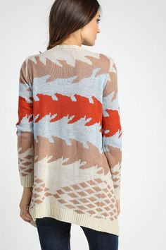 It's not my usual color palette, but I love sweaters with interesting prints or textures.
