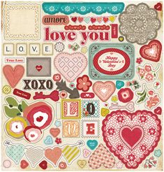 Valentine's Day Scrapbooking Paper Lines Roundup | Scrapbook UpdateScrapbook Update