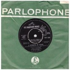 """7"""" 45RPM A Spoonful Of Sugar/Chim Chim Cheree by Julie Andrews And Dick Van Dyke from His Master's Voice (POP 1363)"""
