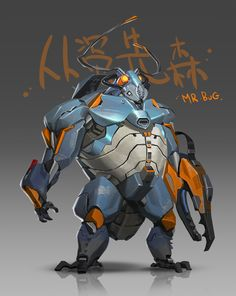 MR.BUG, J Zheng on ArtStation at https://www.artstation.com/artwork/5529w