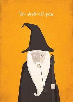 Poster O Senhor dos Anéis - Gandalf