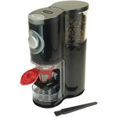 Solofill 2in1 Automatic Singleserve Burr Grinder. Grind beans at the peak of freshness with the 2-in-1 Automatic Single Serve Burr Grinder from Solofill. This grinder has a compact, elegant design and works at a low RPM to reduce heat build up.