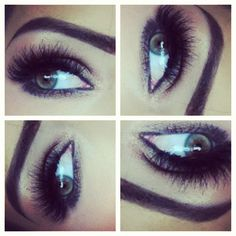 Individual lashes and wispies by Ardel.  #lashes #double - @couture_makeup_by_azi
