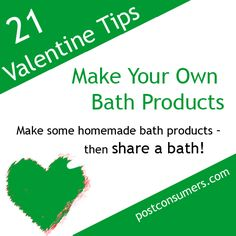 Number 12 on our list of eco-friendly and fun Valentine's Day ideas
