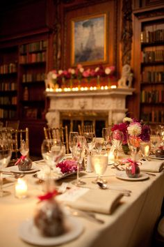 wedding in a library <3