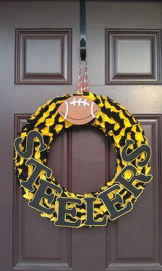 Steeler Wreath!