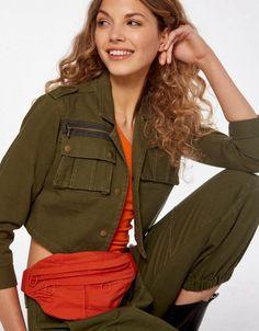 Riñonera Sporty Fanny Pack, Military Jacket, Jackets, Style, Fashion, Hip Bag, Down Jackets, Swag, Moda