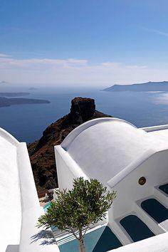 Skaros Rock, Imerovigli, Santorini , Greece