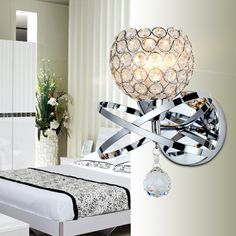 Cheap light turtle, Buy Quality light mood directly from China light headlight Suppliers:  Modern Brief art crystal wall lamp bedside bedroom living room dining decorative wall light fixtue        Modern Brief