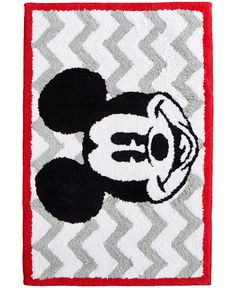 Mickey Chevron Rug - Bath Rugs & Bath Mats - Bed & Bath - Macy's